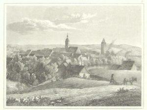 Stahlstich aus dem 19. Jahrhundert
