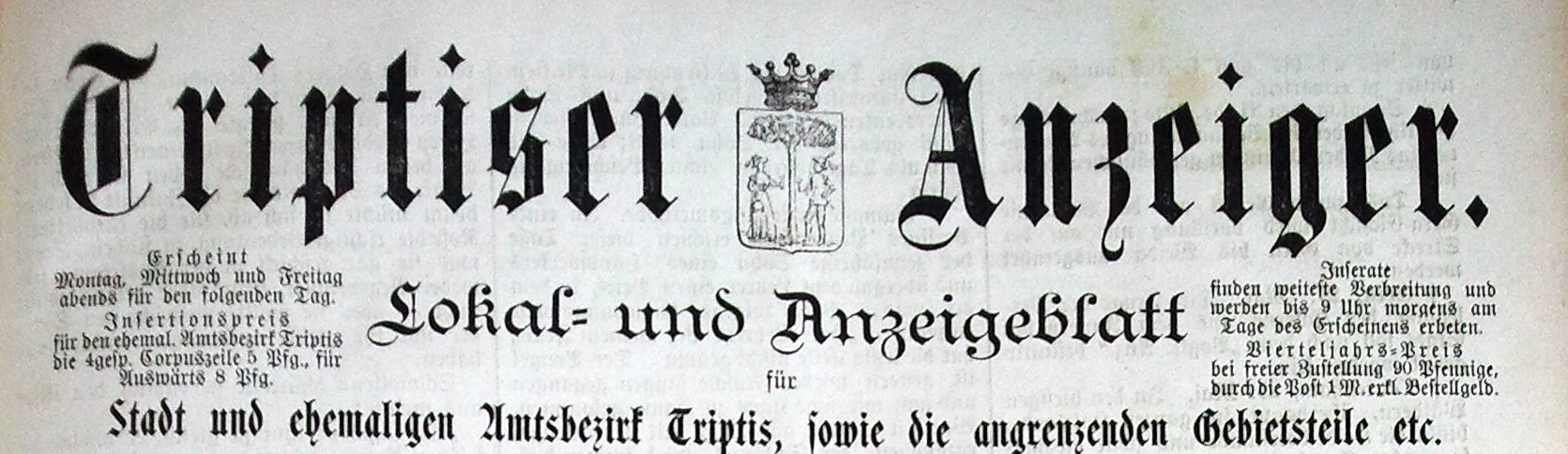 Triptiser Anzeiger